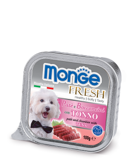 Monge Dog Fresh консервы д/собак тунец 100 г