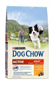 DOG CHOW Adult Active 800г