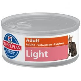 Science Plan™ Feline Adult Light Chicken 85гр