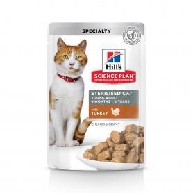 Science Plan™ Feline Sterilised Cat Young Adult с индейкой 85гр