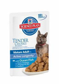 Science Plan™ Feline Mature Adult 7+ with Ocean Fish 85гр
