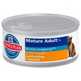 Science Plan™ Feline Mature Adult 7+ with Chicken 85гр