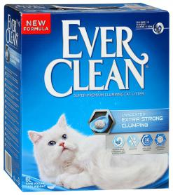 EVER CLEAN ES UNSCENTED БЕЗ АРОМАТИЗАТОРА 10 КГ ГОЛУБАЯ ПОЛОСКА