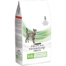 Purina Pro Plan Veterinary Diets HA для кошек с аллергическими реакциями, пакет