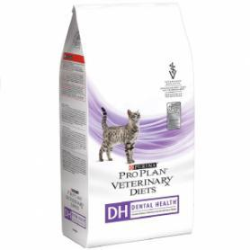 Pro Plan Veterinary Diets Feline DH Dental Health , для кошек, пакет, 1кг