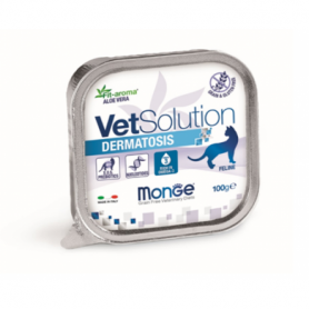 Monge VetSolution Cat Dermatosis диета для кошек Дерматозис 100гр