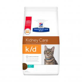 Hill's Prescription Diet k/d Kidney Care при профилактике заболеваний почек для кошек, с тунцом