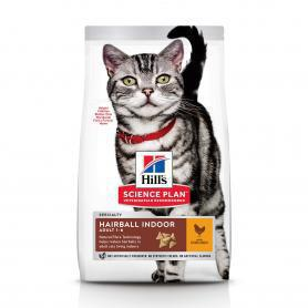 Science Plan™ Feline Adult Hairball Control Chicken, 300 гр.